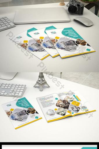 decoración del hogar mejoras para el hogar volante diseño plegable archivo fuente psd Modelo PSD