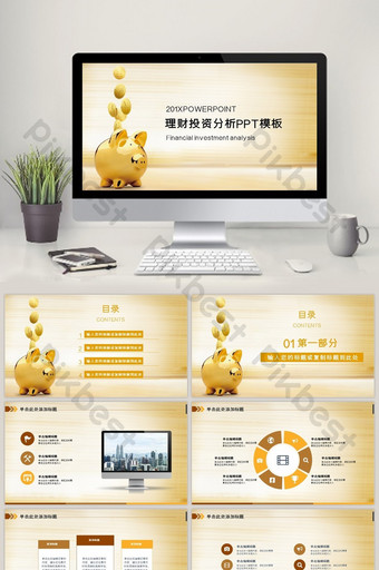 Venture Capital Analysis Roadshow Project Financing PPT Template PowerPoint Template PPTX