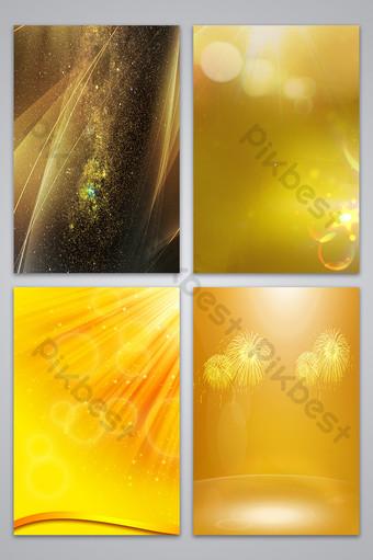 金黃色的財富背景圖 背景 模板 PSD