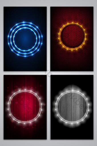 luz de fondo de luz brillante led Fondos Modelo AI