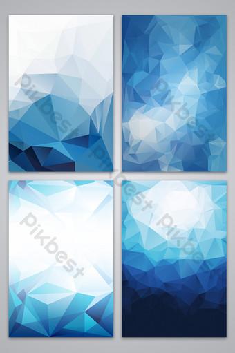 fondo de bloque de color geométrico simple azul Fondos Modelo AI