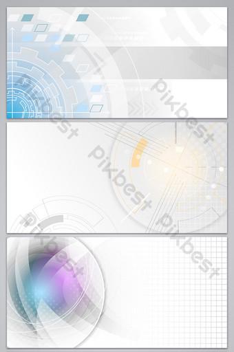 fondo de negocio de tecnología de color claro simple de moda Fondos Modelo AI