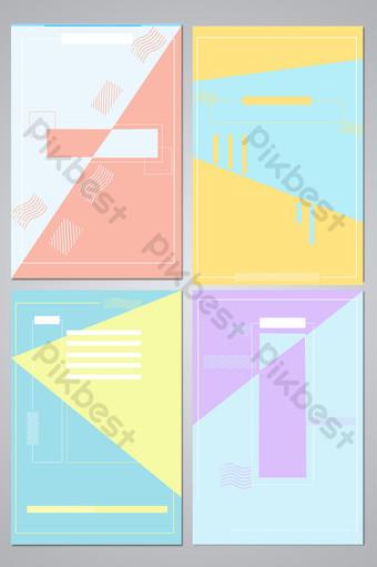 dulce color de contraste pequeño mapa de fondo fresco Fondos Modelo PSD