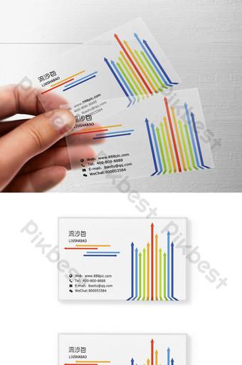 modèle de conception de carte transparente PSD motif géométrique haut de gamme Modèle PSD