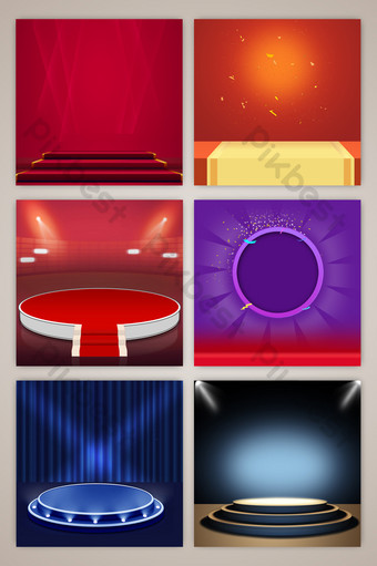 質感眩光舞台光束照明促銷電子商務淘寶主圖背景 背景 模板 PSD