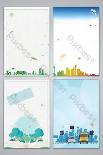 cartoon public service advertisement background map Backgrounds Template PSD