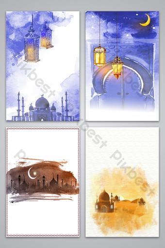 ناقلات الإسلام الحبر اللوحة صورة الخلفية خلفيات قالب AI