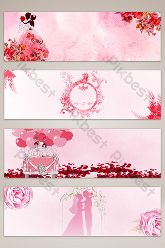 wedding banner templates free psd png vector download pikbest wedding banner templates free psd