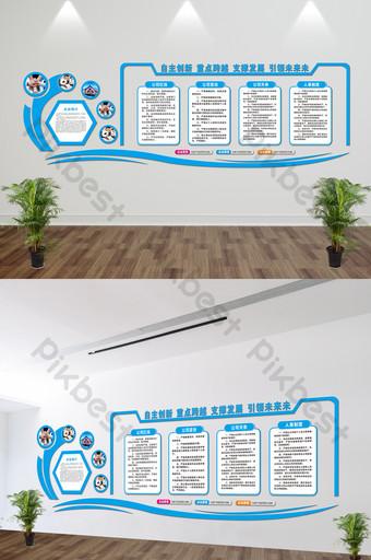 مايكرو ستيريو ثقافة الشركات جدار صورة عرض مجلس uv قالب CDR