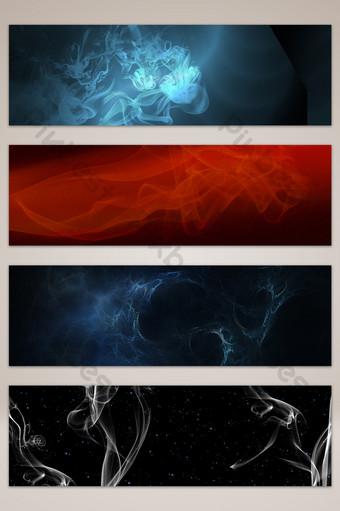 煙霧紋理效果海報橫幅背景圖片 背景 模板 PSD