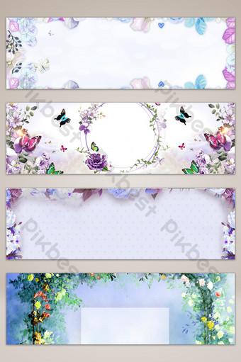 sen underwear beautiful poster banner background Backgrounds Template PSD