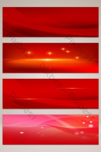 Carte de fond du thème du commerce électronique rouge Fond Modèle PSD