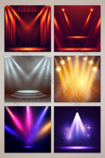 華麗的舞檯燈光效果電子商務淘寶主圖背景 背景 模板 PSD