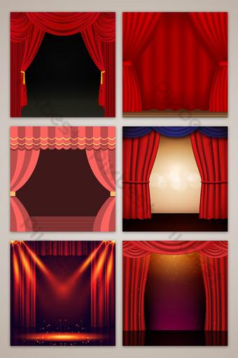 舞台幕布照明電子商務淘寶主圖背景 背景 模板 PSD