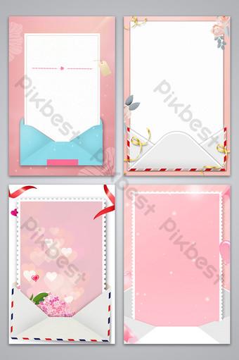 pequeño mapa de fondo de sobre fresco rosa Fondos Modelo PSD