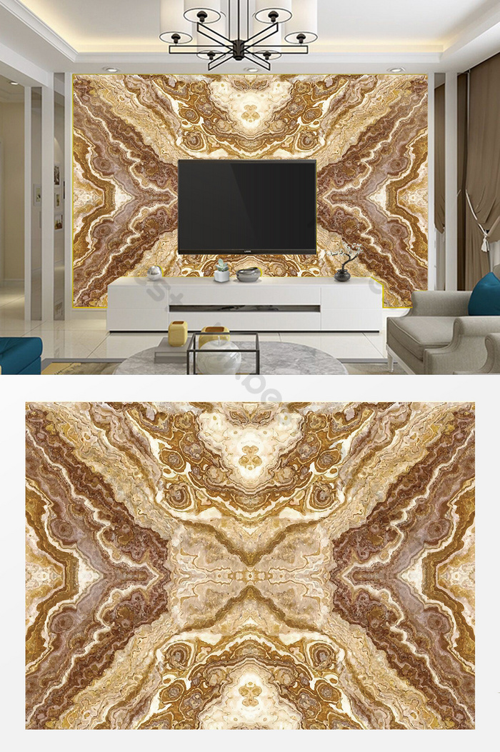 Fashion Living Room Mosaic Stone Marble Tv Background Wall Decors 3d Models Ai Free Download Pikbest