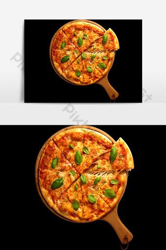 Yếu tố dành cho người sành ăn pizza Công cụ đồ họa Bản mẫu PNG
