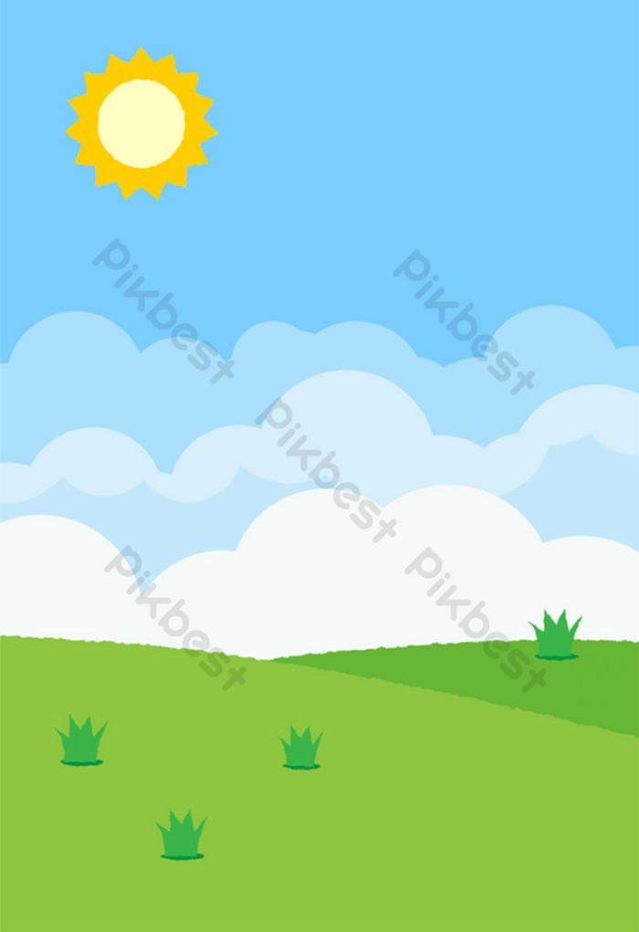 Unduh 9700 Background Rumput Awan Gratis
