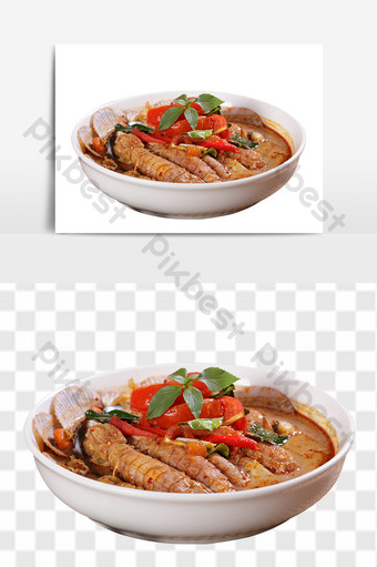 tom yum goong seafood restaurant food E-commerce Template PSD