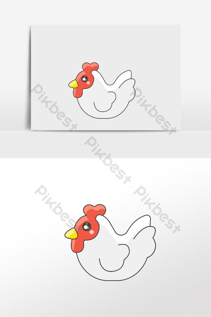 99+ Gambar Hewan Kartun Ayam Terbaik