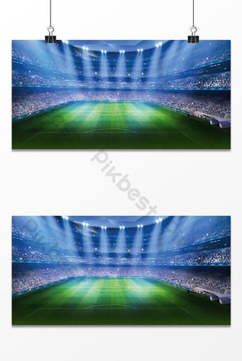 世界杯足球場設計背景圖 背景 模板 PSD