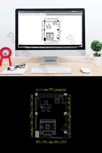 Cad Floor Plan Templates Free Decor Models Cad Dwg Psd Download Pikbest