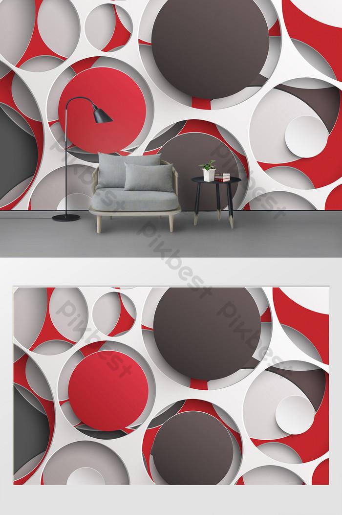 parede de fundo gráfico geométrico estéreo 3d simples moda moderna