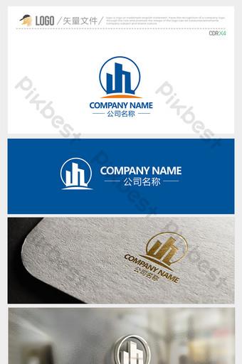 logotipo de construcción simple y elegante letra jz Modelo CDR