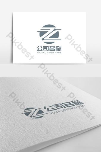 tecnología z carta logo signo Modelo CDR