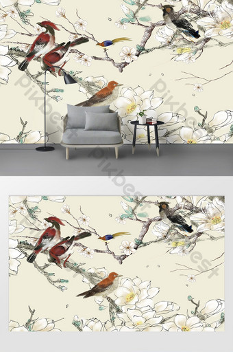 Bird Wall Decoration Templates Free Psd Png Vector Download Pikbest