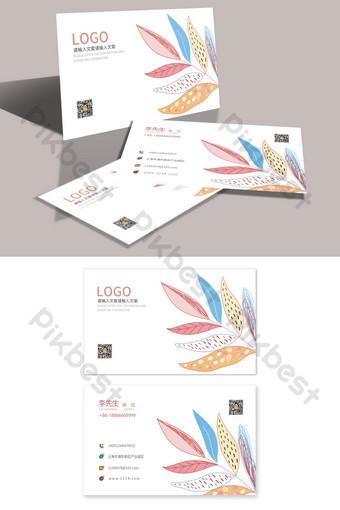 فن الرسم والتعليم قالب بطاقة عمل بسيط عالمي قالب PSD