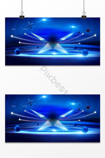 科技燈光效果舞台廣告設計背景圖 背景 模板 PSD