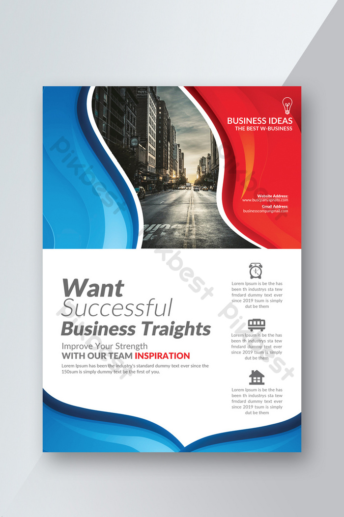 Small Business Consulting Flyer Template Psd Free Download