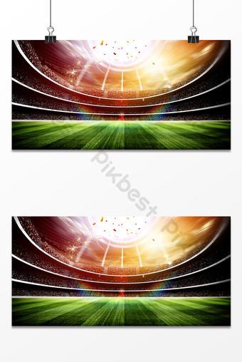 足球運動光效商業廣告設計背景圖 背景 模板 PSD