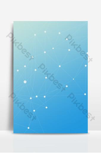 Carte de fond de ligne de technologie bleue Téléchargement gratuit Fond Modèle PSD