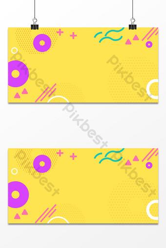 手繪風格幾何簡單線條平面紋理背景 背景 模板 PSD