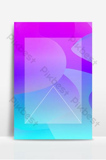 Carte de fond graphique fantaisie violet bleu Fond Modèle PSD