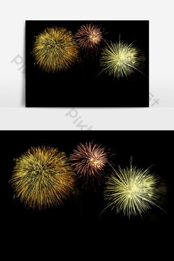 elementos de efecto de vacaciones de fuegos artificiales florecientes coloridos fuegos artificiales hd Elementos graficos Modelo PSD
