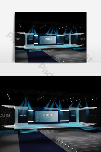 個性化的舞台3d設計 裝飾·模型 模板 MAX
