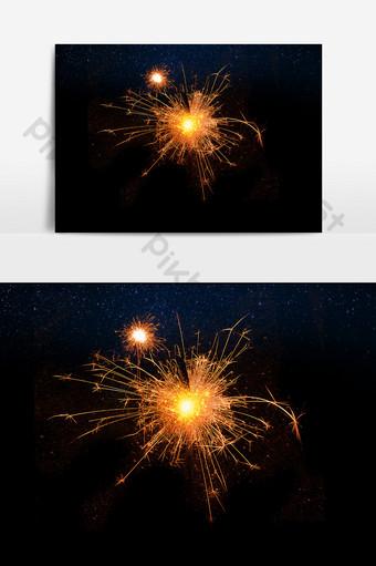 fuegos artificiales de elemento de efecto de vacaciones hd Elementos graficos Modelo PSD