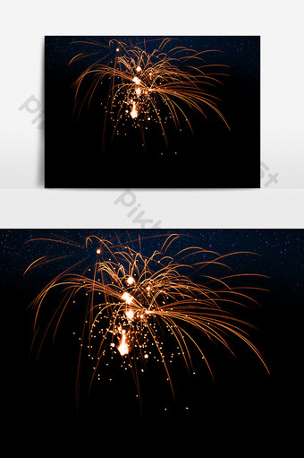 fuegos artificiales de simulación de vacaciones hd Elementos graficos Modelo PSD