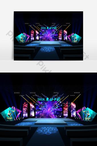 表演藝術舞台設計模型 裝飾·模型 模板 MAX