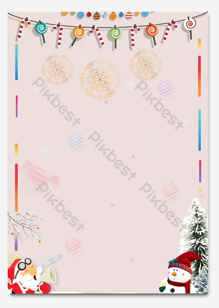 Christmas Stationery.Cute Minimalistic Christmas Stationery Background Word