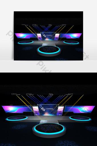 大型舞台設計模型 裝飾·模型 模板 MAX