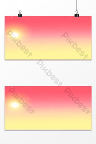 fondo de publicidad de color degradado de transición rojo y amarillo psd Fondos Modelo PSD