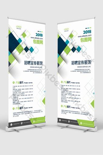 soporte de exhibición de negocios creativos roll up banner diseño plantilla psd Modelo PSD