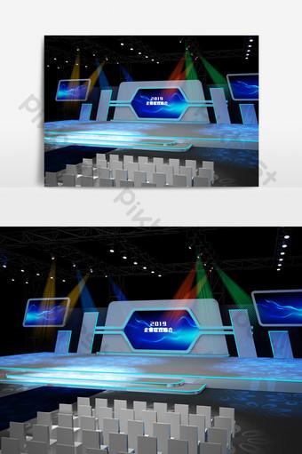 舞台設計效果圖3D模型 裝飾·模型 模板 MAX
