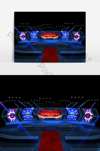 舞台設計模型 裝飾·模型 模板 MAX