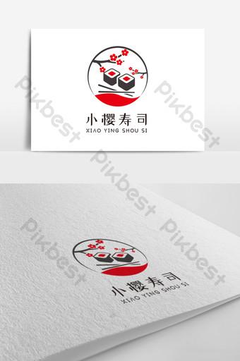 diseño de logotipo de restaurante de sushi japonés Modelo AI