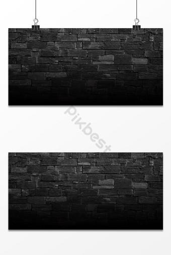 جدار من الطوب الرمادي نسيج الخلفية خلفيات قالب PSD